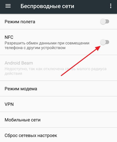 функция NFC