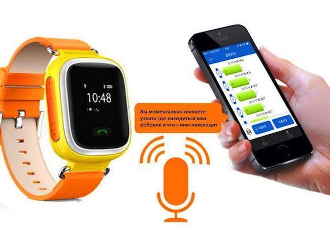Часы с функцией GPS