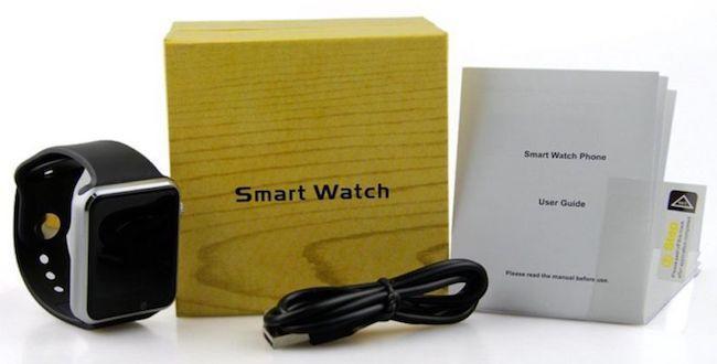 Smart watch w8- обзор модели