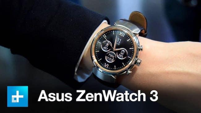 Asus Zen Watch 3 – характеристика модели