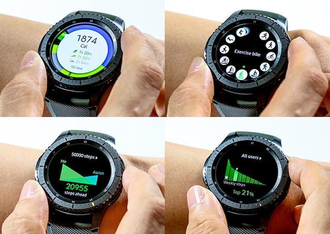 Samsung Gear S3 Frontier — лучшие смарт часы