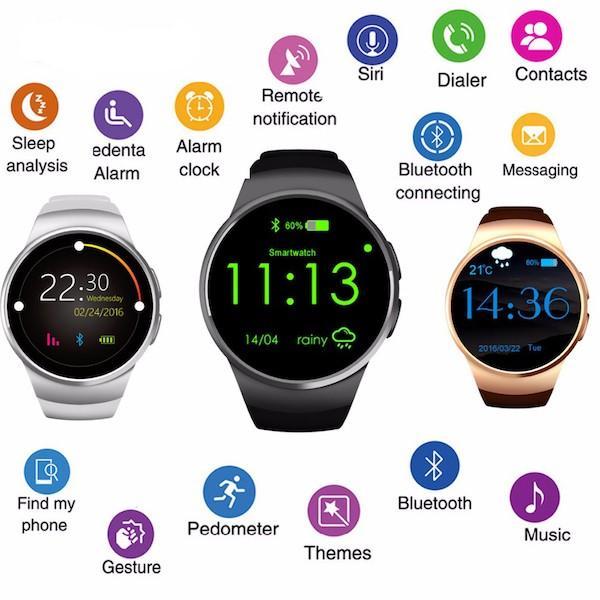 Smart Watch KW18 - умные часы с СИМ-картой