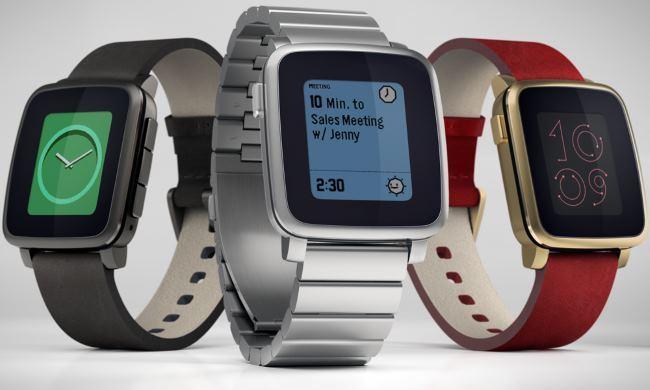 Pebble Time Steel - обзор смарт часов