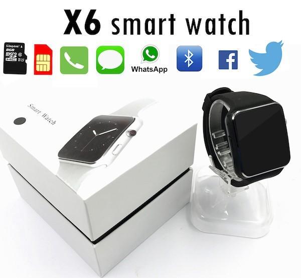 Обзор Smart Watch X6 - новинка 2017 года