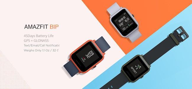 Xiaomi Amazfit Bip – умные часы для тренировок