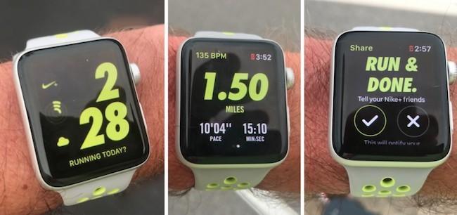 Обзор умных часов Apple Watch Nike