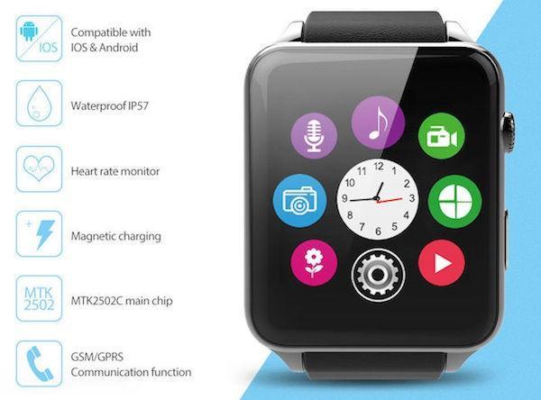 Обзор смарт-часов SmartWatch GT88