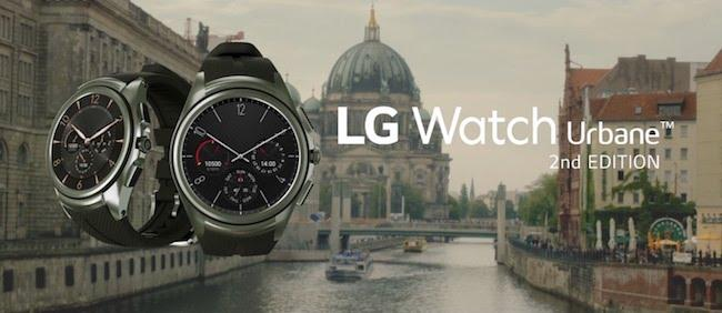 Обзор на часы LG Watch Urbane 2nd Edition w200