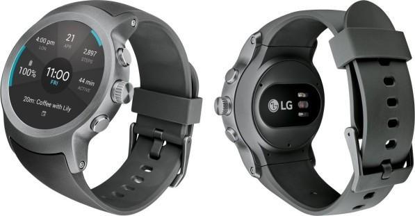 Часы LG Watch Sport: обзор, характеристики, особенности