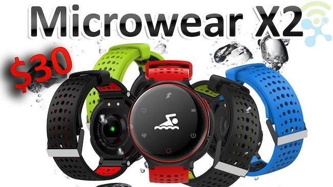 Smart Watch x2 - обзор умных часов
