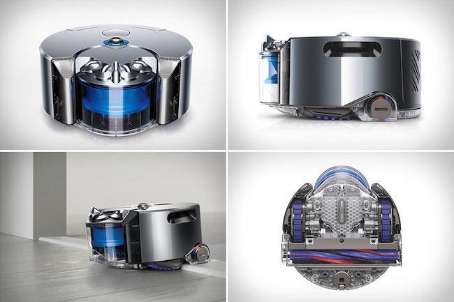 Робот пылесос Dyson 360 Eye – детальный обзор модели