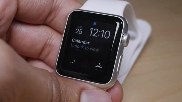 Не загорается дисплей на apple watch