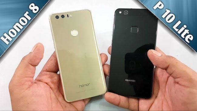 Huawei 8 lite или Huawei p10 lite: какой смартфон выбрать?