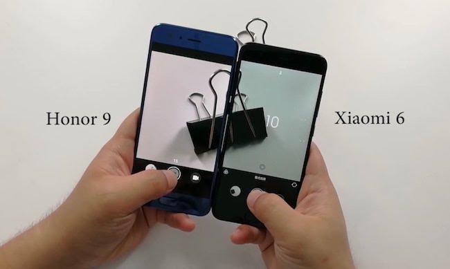 Huawei Honor 9 и Xiaomi Mi6 – сравнение моделей