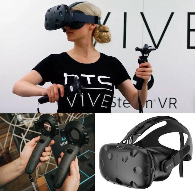 Очки виртуальной реальности HTC Vive: ощути реальность по-новому