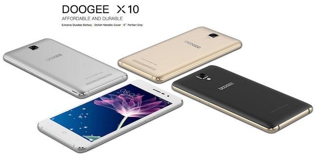 Обзор бюджетного смартфона Doogee X10