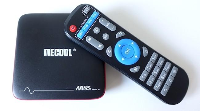 Mecool M8S PRO W на Android 7.1
