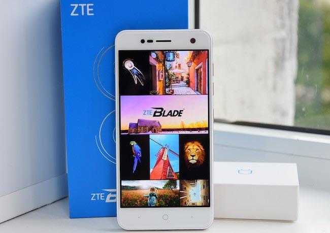 ZTE Blade V8 Mini - обзор бюджетного смартфона