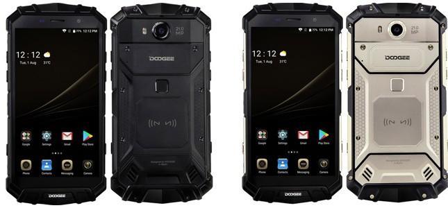 Обзор Doogee S60 - защищенный смартфон с батареей на 5580 мАч
