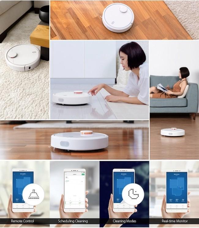 Робот-пылесос Xiaomi MIJIA Mi Robot Vacuum - обзор возможностей