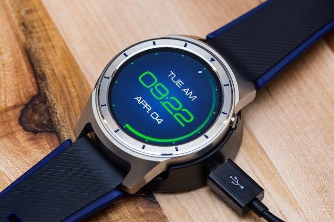ZTE Quartz - обзор самых дешевых часов на Android Wear 2.0