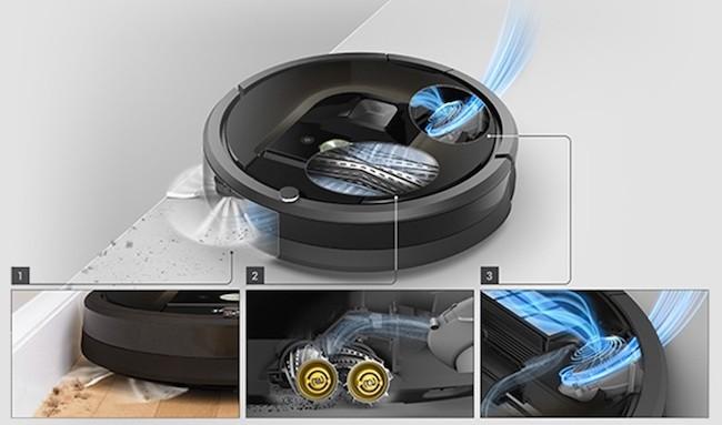 Уникальная система сбора мусора AeroForce