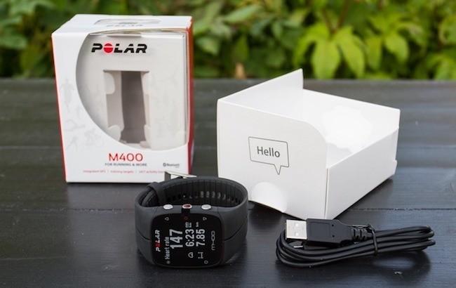 Polar M400 - часы с GPS и пульсометром