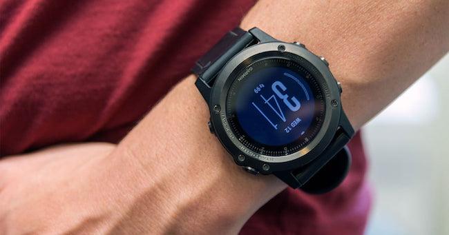 Garmin Fenix 3 Sapphire HR - Мультиспортивные часы со встроенным датчиком пульса