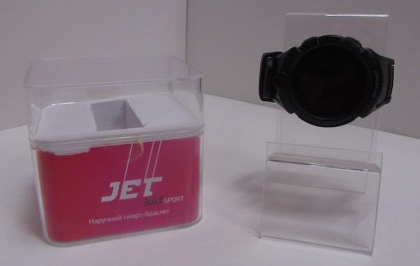 JET Kid Sport - детский смарт-браслет с фото и видеокамерой