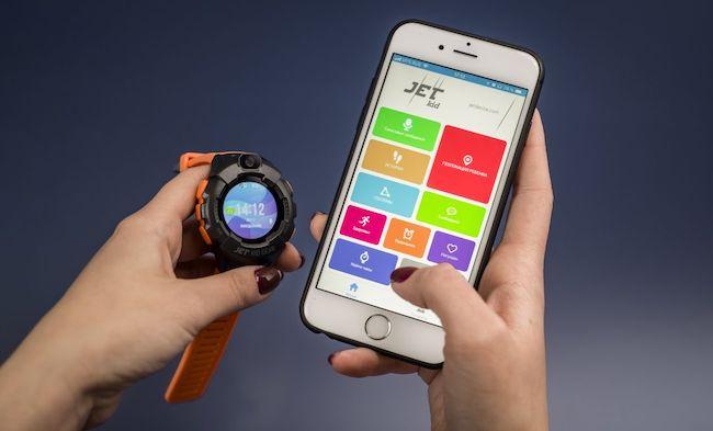 Смарт часы Jet Kid Gear – обзор детского браслета