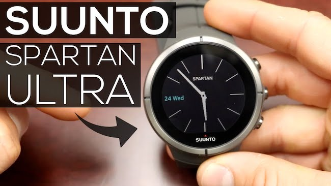 Обзор Suunto Spartan Ultra HR - часы для мультиспорта