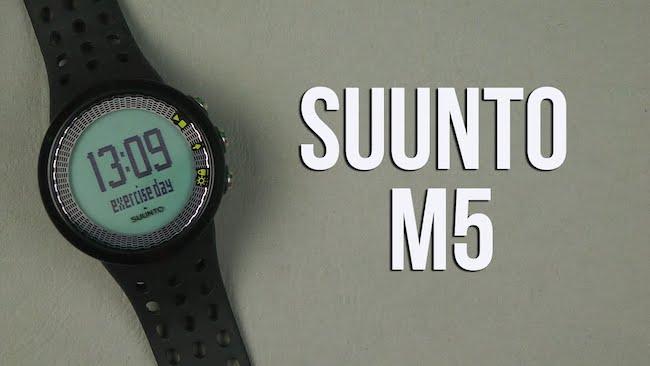 Обзор Suunto M5: смарт часы с функциями личного тренера
