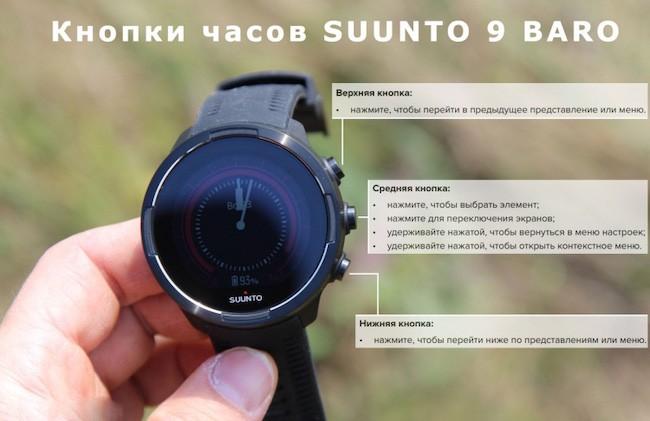 Обзор Suunto 9: Часы для спорта и туризма