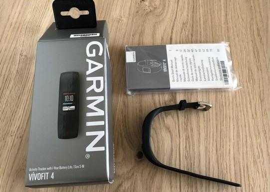 Фитнес-браслет Garmin Vivofit 4 – обзор с отзывами