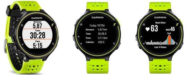 Беговые часы Garmin Forerunner 230