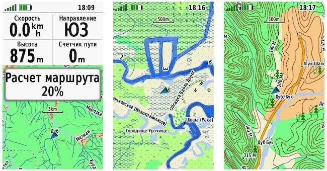 Обзор туристического навигатора Garmin GPSMAP 66st