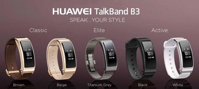 Обзор линейки смарт браслетов Huawei TalkBand B3: Lite, Active, Elite и Classic