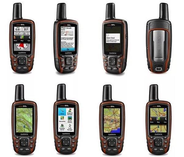 Навигатора Garmin GPSMAP 64s: обзор функций и возможностей