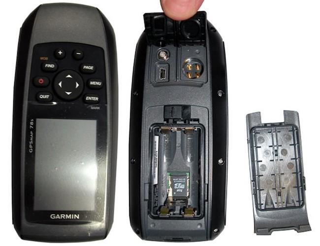 Обзор навигаторов Garmin GPSMAP 78S и Garmin GPSMAP 78