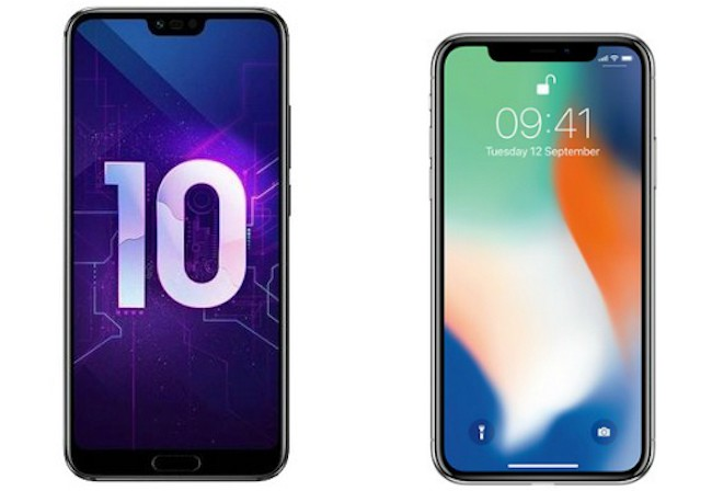 Сравнительный обзор Honor 10 vs iPhone 10