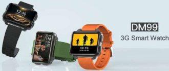 Обзор Smart Watch DM99: Android 5.1, большой экран, камера и шагомер