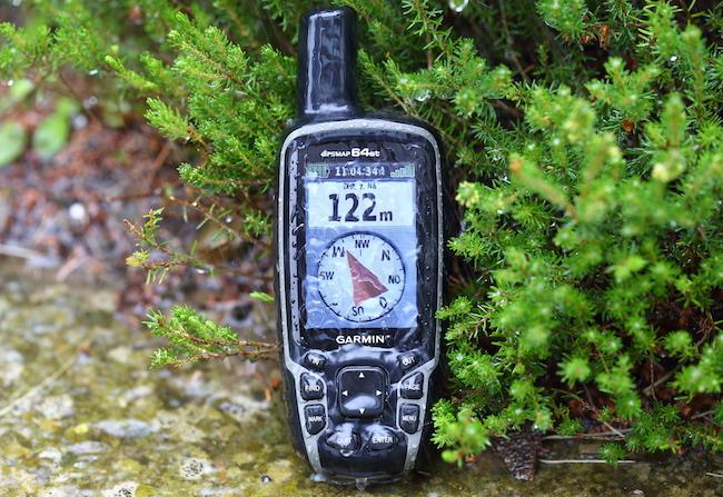 Обзор навигатора Garmin GPSMap 64 ST