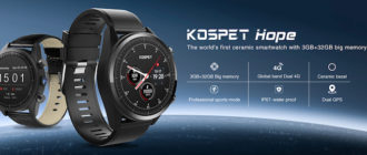 Обзор смарт часов Kospet Hope: 4G, Android 7.1.1, 3GB/32GB