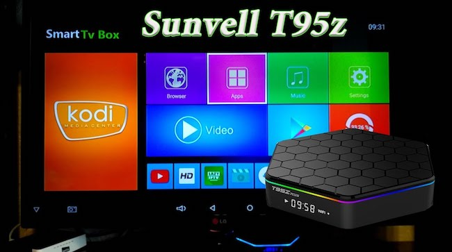Обзор смарт тв-приставки Sunvell T95Z Plus