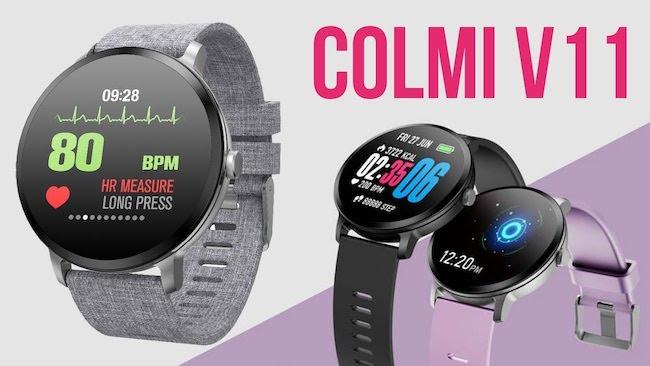 Многофункциональные умные часы Colmi V11