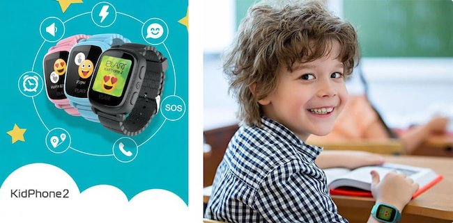 Обзор детских смарт-часов Elari KidPhone 2