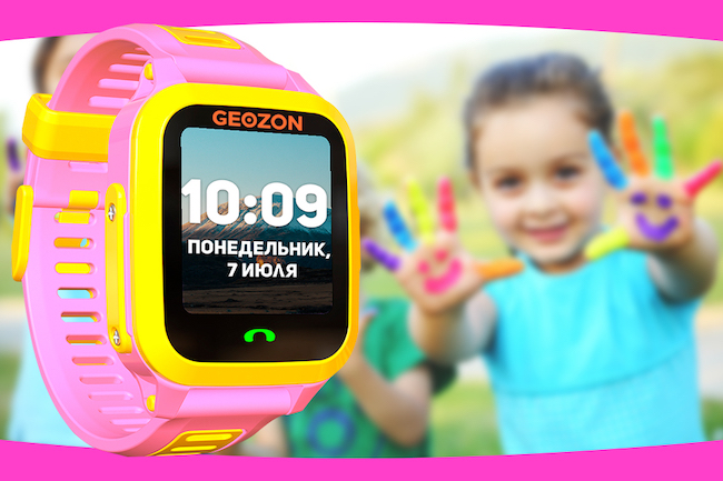 Обзор Geozon Active - детские часы с камерой