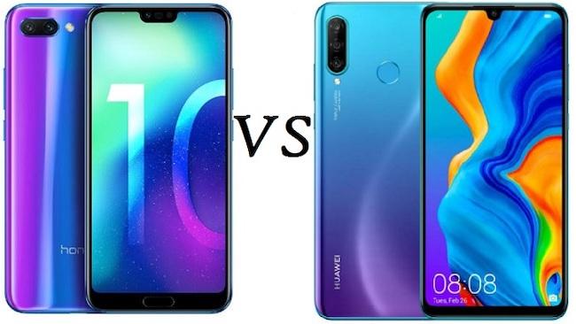 Cравнение Huawei P20 Pro и Honor View 20