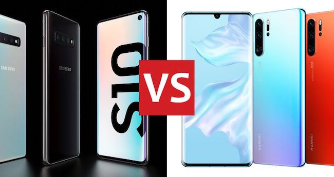 Сравнение Huawei P30 Pro и Samsung Galaxy S10