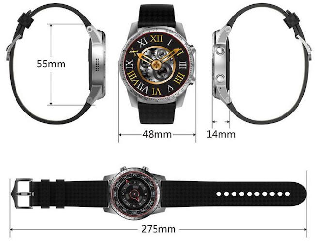 Сравнение часов Kingwear KW99 и KW99 Pro